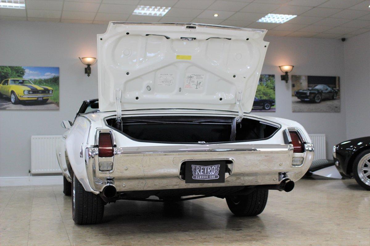 1969 Oldsmobile 442 V8 Convertible Auto | Restored For Sale (picture 24 of 25)