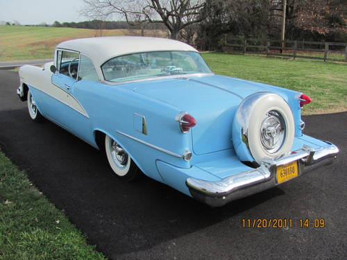 1955 Oldsmobile 98 Holiday 2DR HT For Sale (picture 2 of 6)