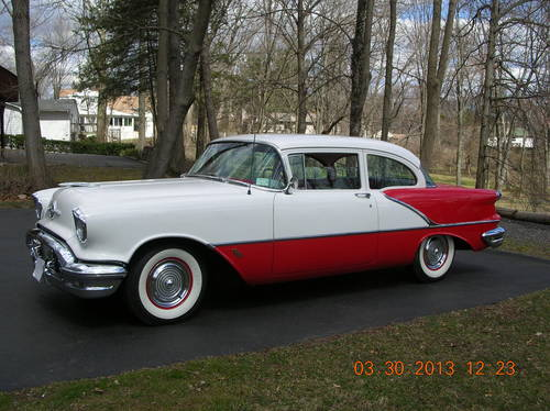 1956 Oldsmobile 88 2DR Sedan For Sale (picture 1 of 6)