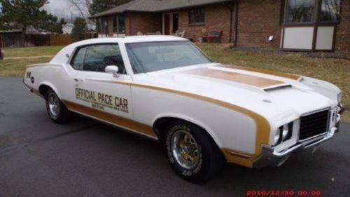 1972 Oldsmobile 442 Hurst Pace Car For Sale (picture 1 of 6)