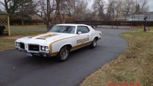 1972 Oldsmobile 442 Hurst Pace Car For Sale (picture 2 of 6)