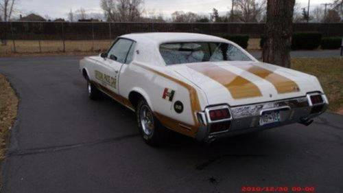 1972 Oldsmobile 442 Hurst Pace Car For Sale (picture 4 of 6)