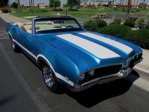 1969 Original Oldsmobile 442  Automatic Convertible For Sale (picture 2 of 6)