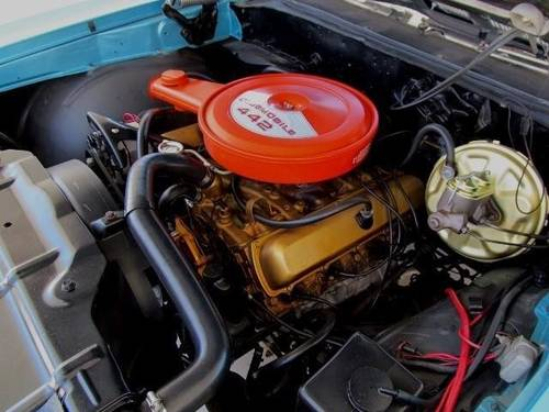 1969 Original Oldsmobile 442  Automatic Convertible For Sale (picture 4 of 6)