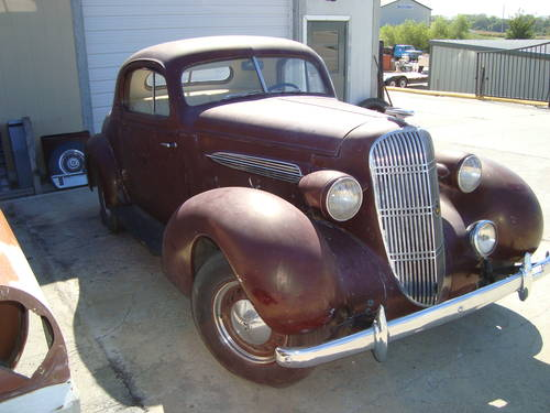 1935 Oldsmobile 3-W Business Coupe For Sale (picture 2 of 6)