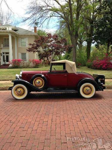 1931 Oldsmobile Deluxe 2DR Convertible For Sale (picture 1 of 5)