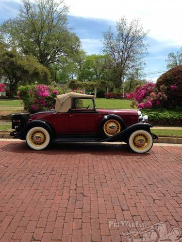 1931 Oldsmobile Deluxe 2DR Convertible For Sale (picture 2 of 5)