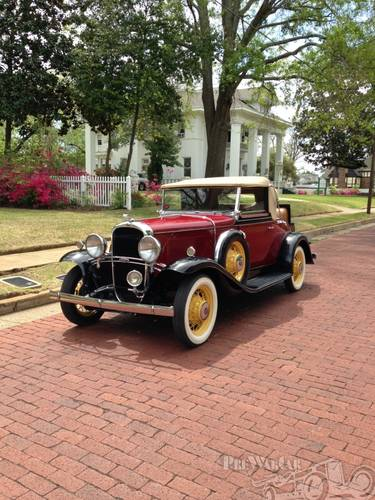 1931 Oldsmobile Deluxe 2DR Convertible For Sale (picture 3 of 5)