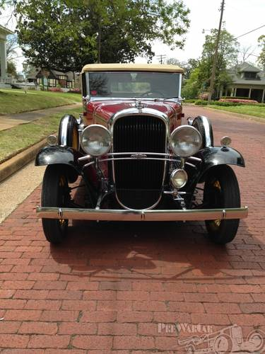 1931 Oldsmobile Deluxe 2DR Convertible For Sale (picture 4 of 5)