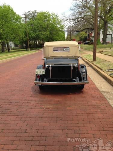 1931 Oldsmobile Deluxe 2DR Convertible For Sale (picture 5 of 5)