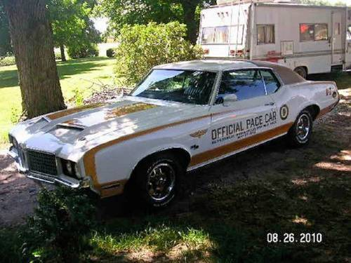 1972 Oldsmobile Hurst Indy Pace Car For Sale (picture 2 of 6)
