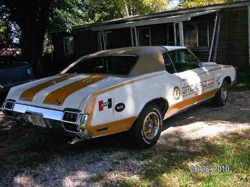 1972 Oldsmobile Hurst Indy Pace Car SOLD (picture 4 of 6)
