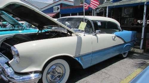 1956 Oldsmobile 88 Holiday 2DR HT For Sale (picture 1 of 6)