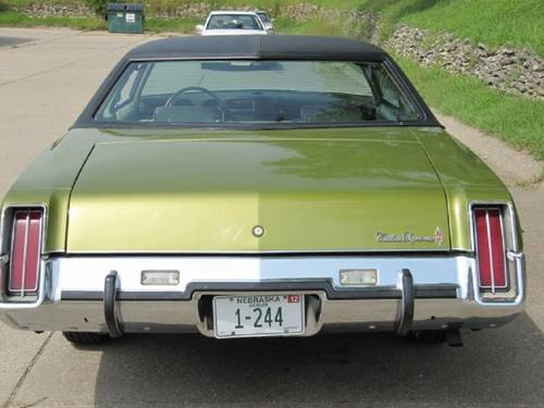 1973 Oldsmobile Cutlass Brougham For Sale (picture 3 of 6)