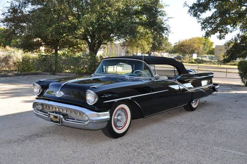 1957 Oldsmobile 98 Convertible For Sale (picture 1 of 6)