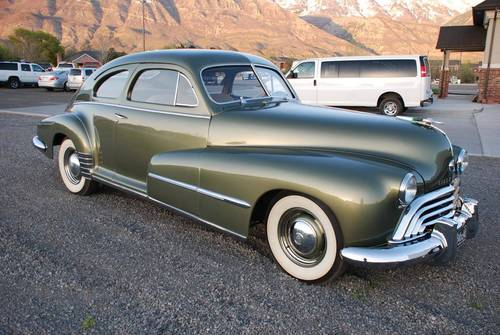 1948 Oldsmobile 68 Sedanette For Sale (picture 2 of 6)