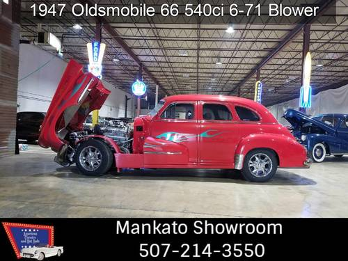 1947 Oldsmobile 66 540 big block 6-71 blower 1000+HP For Sale (picture 1 of 6)