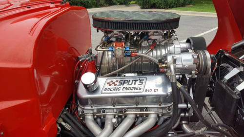 1947 Oldsmobile 66 540 big block 6-71 blower 1000+HP For Sale (picture 3 of 6)