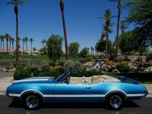 1969 Original Oldsmobile 442  Automatic Convertible For Sale (picture 1 of 6)