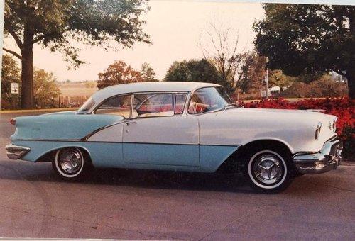 1956 Oldsmobile Super 88 Holiday 2DR HT For Sale (picture 1 of 6)