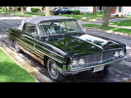 1962 Low Mile Full-Size Oldsmobile Dynamic 88 Conv For Sale (picture 1 of 6)