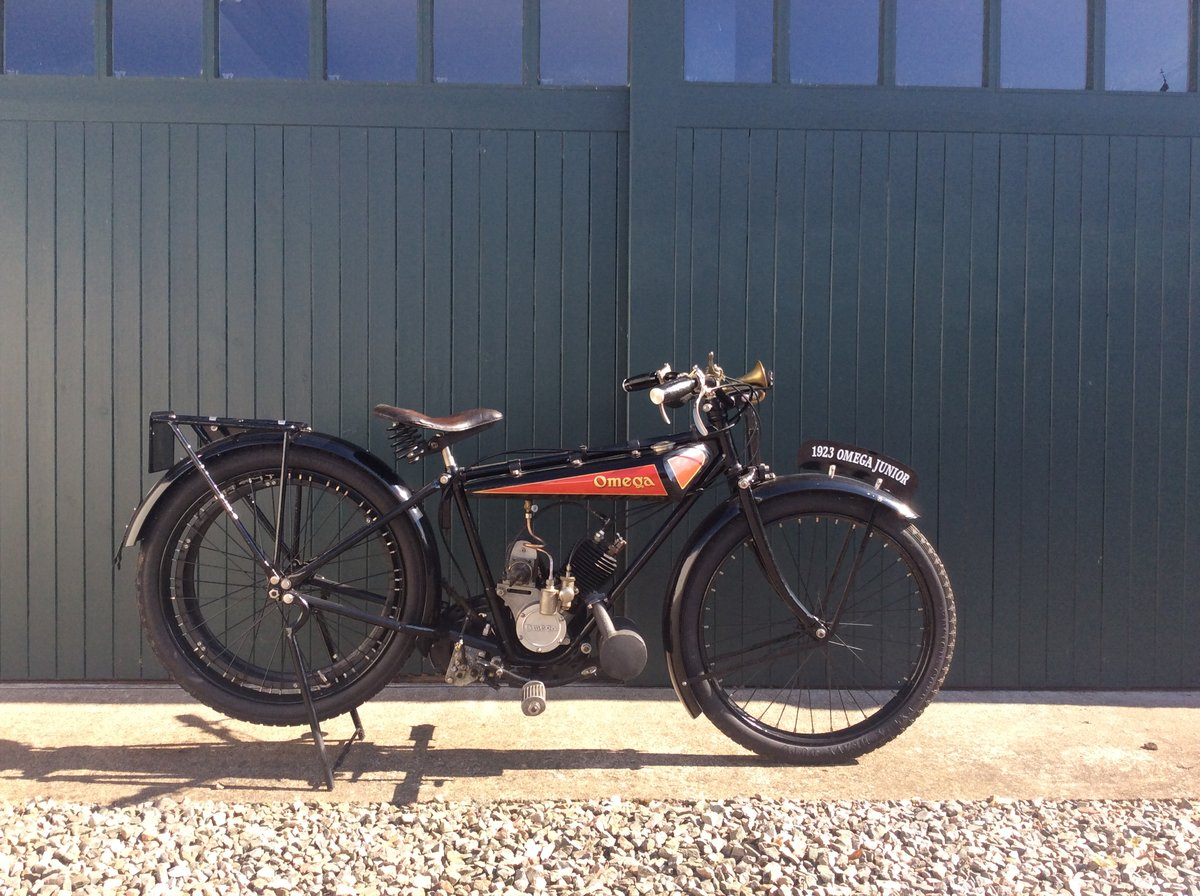 1923 Omega Motorcycle 170cc For Sale (picture 1 of 6)