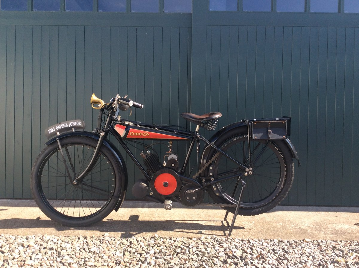 1923 Omega Motorcycle 170cc For Sale (picture 2 of 6)