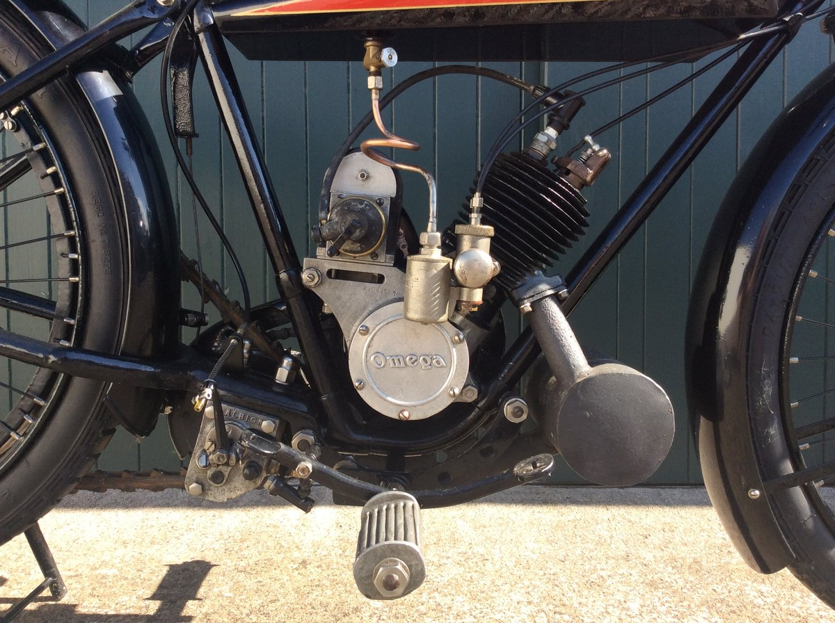 1923 Omega Motorcycle 170cc For Sale (picture 5 of 6)