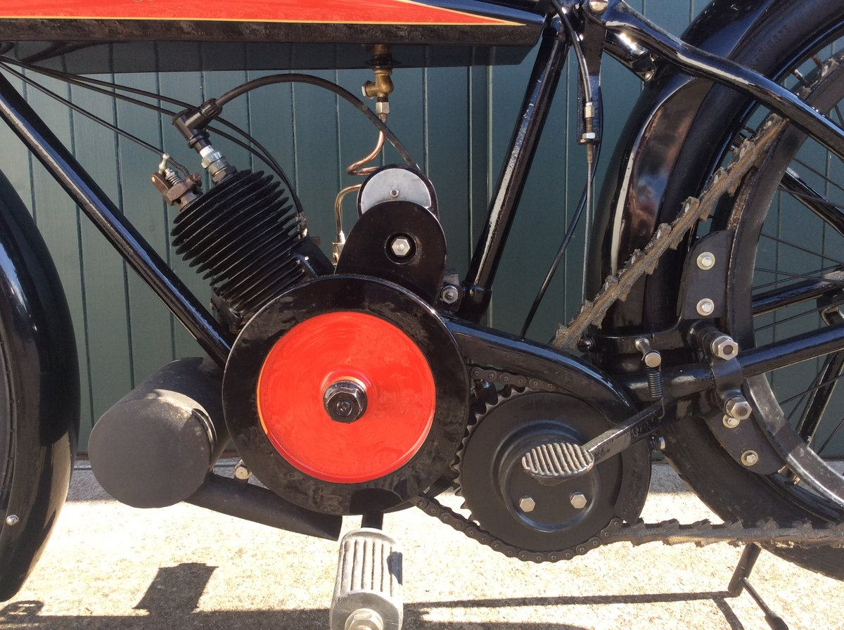 1923 Omega Motorcycle 170cc For Sale (picture 6 of 6)