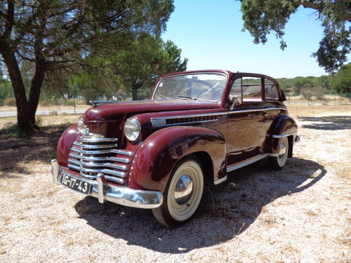 1951 Opel Olympia Decouvrable - In Great Condition For Sale (picture 1 of 6)