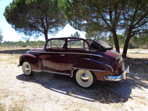 1951 Opel Olympia Decouvrable - In Great Condition For Sale (picture 3 of 6)