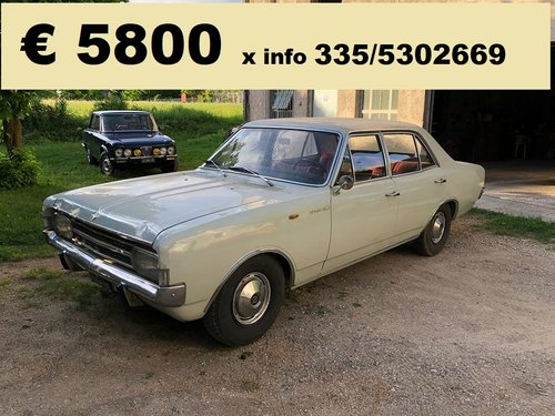 1968 opel rekord NO RUST! For Sale (picture 1 of 2)