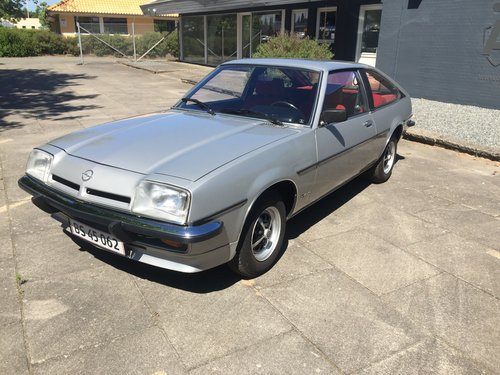 1980 Opel Manta 2,0 Berlinetta Coupe  SOLD (picture 1 of 6)