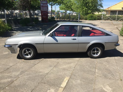 1980 Opel Manta 2,0 Berlinetta Coupe  SOLD (picture 2 of 6)