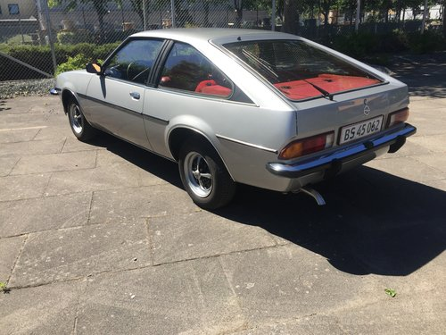 1980 Opel Manta 2,0 Berlinetta Coupe  SOLD (picture 3 of 6)
