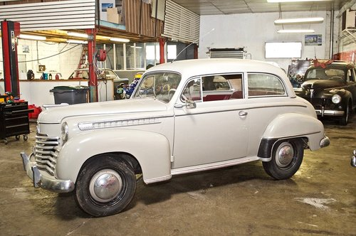 OPEL OLYMPIA 1951 SOLD by Auction (picture 1 of 4)