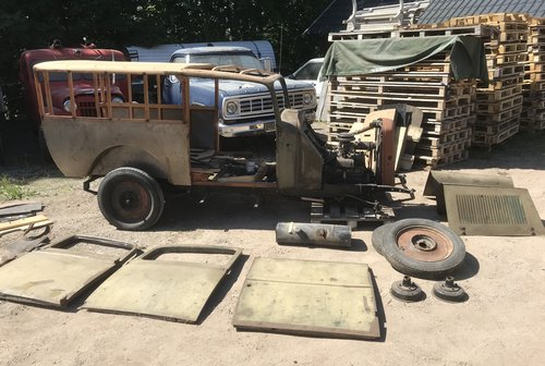 1937 Opel P4 Delivery Lieferwagen For Sale (picture 2 of 6)