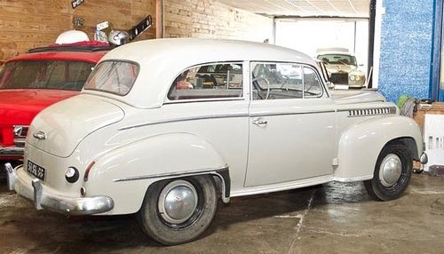 1951 OPEL OLYMPIA SOLD by Auction (picture 2 of 5)