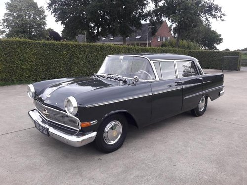 Opel Kapitän 1962 Gray LUXURY MOT 02-2020  Original Dutch pl SOLD (picture 1 of 6)