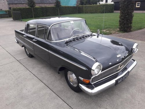 Opel Kapitän 1962 Gray LUXURY MOT 02-2020  Original Dutch pl SOLD (picture 2 of 6)