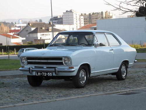 1970 Opel Kadett Sedan Fastback LS For Sale (picture 1 of 6)