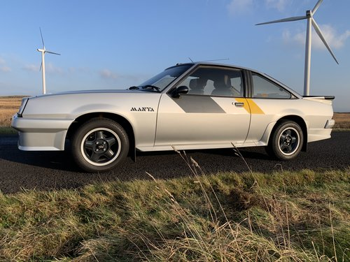 1984 Opel Manta Gsi Coupé for Sale For Sale (picture 1 of 6)
