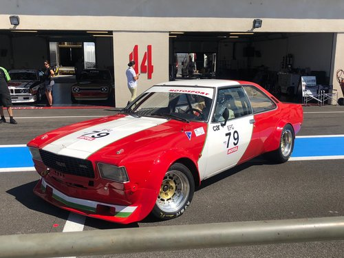 1974 Opel Commodore B GS/E Coupé Gr. 2 Race Car For Sale (picture 1 of 6)