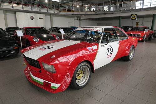 1974 Opel Commodore B GS/E Coupé Gr. 2 Race Car For Sale (picture 2 of 6)