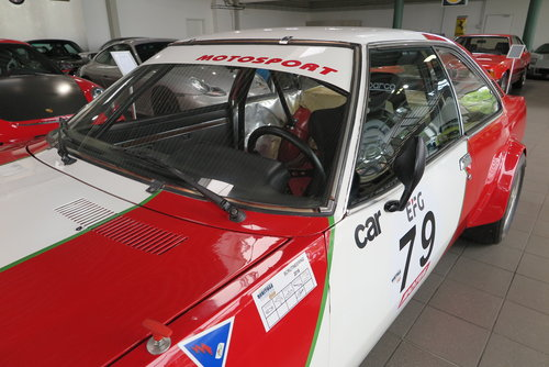 1974 Opel Commodore B GS/E Coupé Gr. 2 Race Car For Sale (picture 3 of 6)