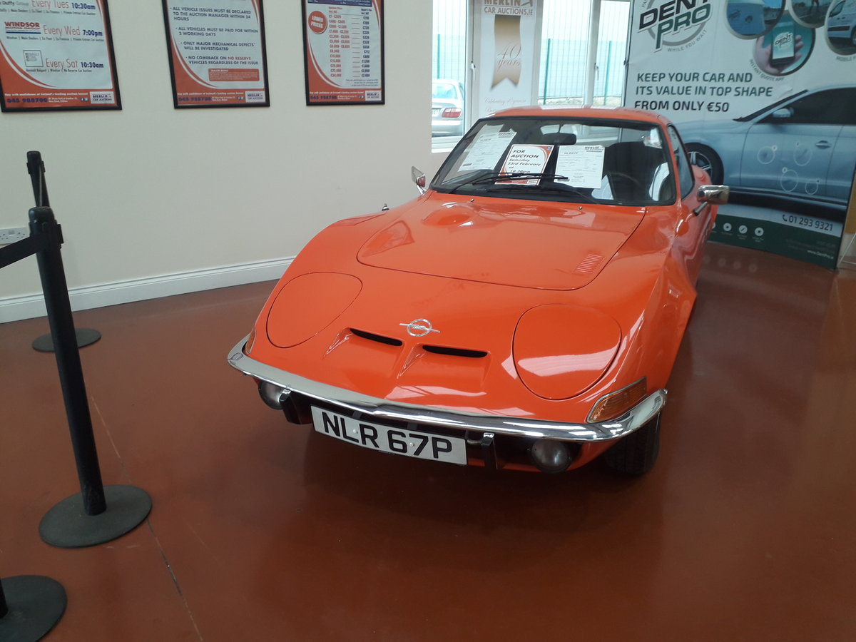 Opel 1900 Gt 1972 Auction 23th For Sale Car And Classic