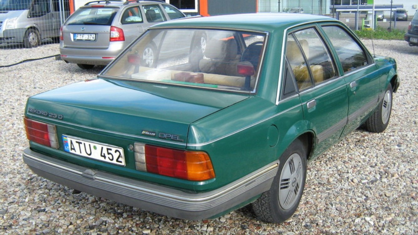1985 Opel Record Diesel  For Sale (picture 2 of 6)