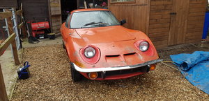 opel gt 1973 project For Sale