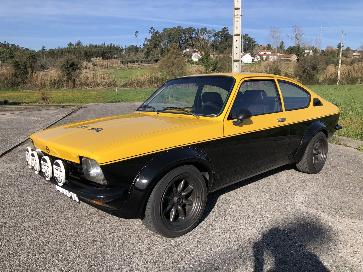 1974 Opel Kadett Gte 2 0 16v For Sale Car And Classic