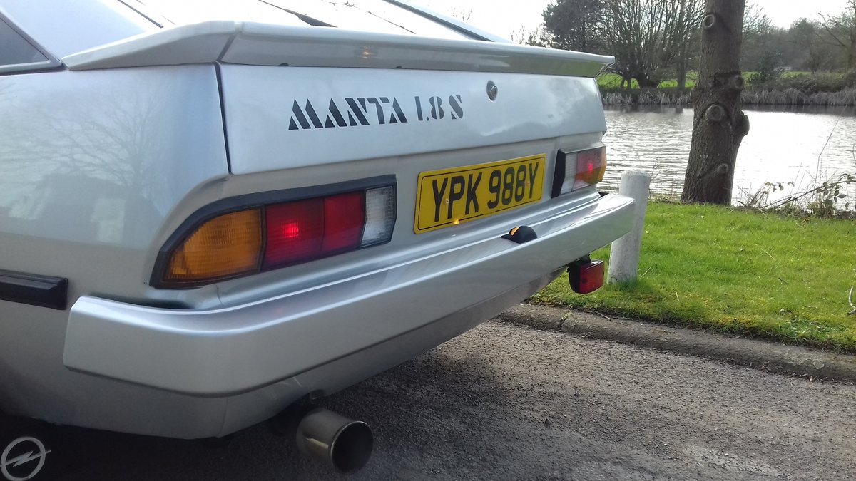 1983 OPEL MANTA BERLINETTA ~ RARE SIGHT! ~ LOVELY CONDITION!!!    SOLD (picture 2 of 6)